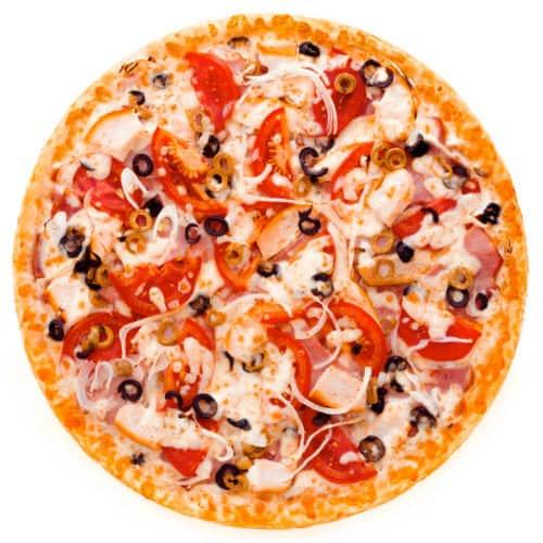 "Мясная пицца с без грибов ""Алабама"""