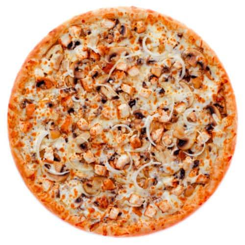 """Пицца """"Флорида"""" с начинкой из нежного Жульена"""