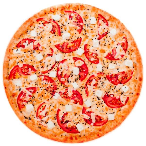 """Сырная пицца с томатами и кунжутом """"Миннестота"""""""