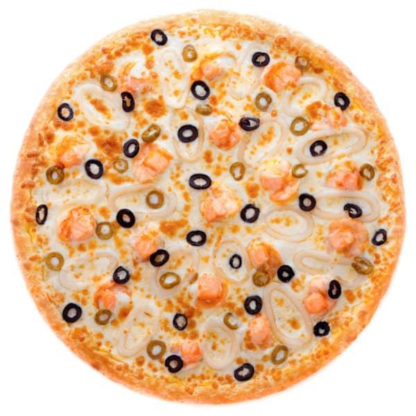 "Рыбная пицца с морепродуктами ""Атлантика"""